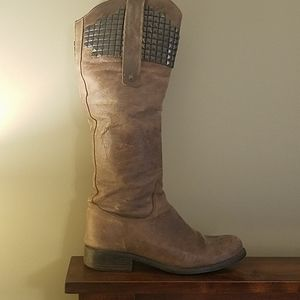 Steve Madden Regime leather boots